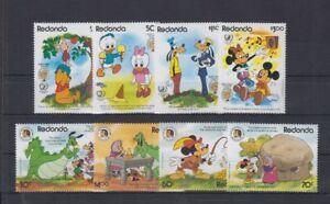 Redonda 1985 Disney Mickey Timbres Terminé Ensemble Neuf Sans Charnière-afficher Le Titre D'origine Produits Vente Chaude