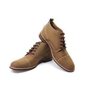Image is loading Men-039-s-Brown-Ferro-Aldo-Ankle-Boots-