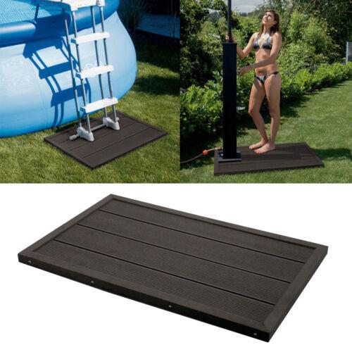 Bodenelement für Solardusche Pool Gartendusche Aussendusche Pooldusche Dusche