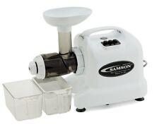 "OPENED BOX Samson ""Advanced""  GB9004 Multi-Purpose Wheatgrass Juicer~WHITE"