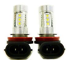 Pair H8 80W High Power Projector LED Bulbs Driving Fog Light Bulb White 6000K