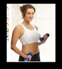 694398431 Glamorise Double Layer Custom Control High Impact Sports Bra Style 1166