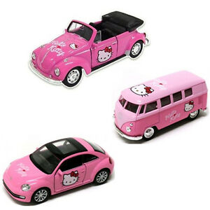 image is loading hello kitty mini car 3p set volkswagen style