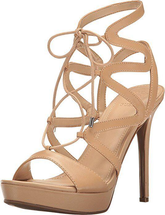 Guess Women's Aurela3 Platform Dress Sandal Size 8.5 M US