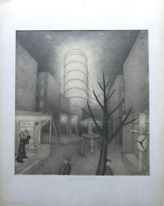 Erich Gallo Berlino Il Ultimo Rummel 1935 Nuovo Oggettività Architettura Persone