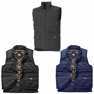 Dickies-Professional-Combat-Bodywarmer-BW11025-Mens-Quality-Lined-Work-Gilet