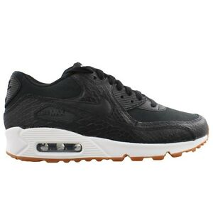 Nike Air Max 90 Women's Gum Black Black White Premium