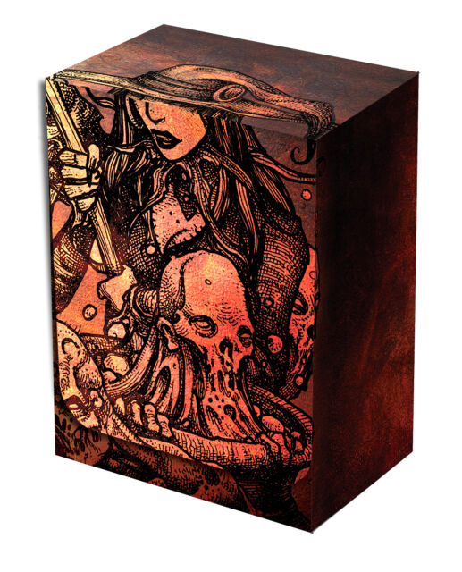 Legion Cauldron Deck Box holds 100 sleeved cards Magic FOW Pokemon