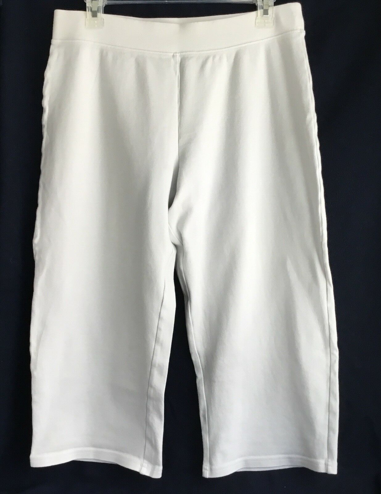 FRESH PRODUCE Ready Set Go Active Capri WHITE Size Medium New without tags