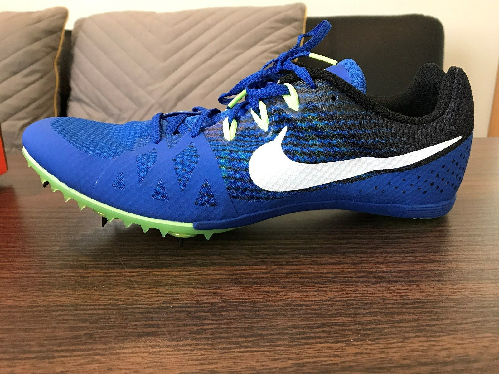 997762b349c Nike Zoom Rival M 8 Track Field Sprint Spikes Shoes Size 13 Blue ...
