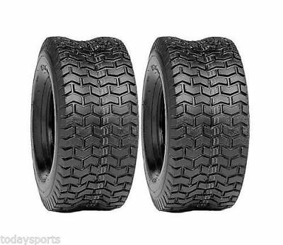 TWO 4.10//3.50-4 410//350-4 P332 Turf Lawn Mower Go Kart TIRES 4 PLY RATED