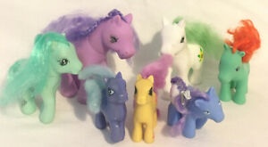 Unbranded-Toy-Ponies-Similar-To-My-Little-Pony-Job-lot-Bundle-x7