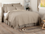 SAWYER-MILL-TICKING-STRIPE-QUILT-choose-size-amp-accessories-Farmhouse-Bedding thumbnail 1