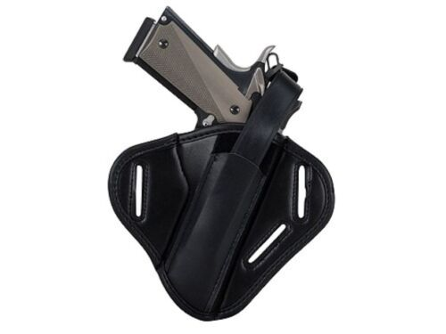 Uncle Mike/'s Super Belt Slide Holster Ambidextrous 1911 Government 86190