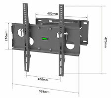 TV Wall mount bracket cantilever Tilt Swivel 400mm vesa  32 42 50 55 LCD LED
