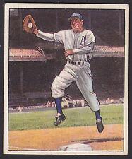 1950 Bowman Ferris Fain Philadelphia Athletics #13 Baseball Card