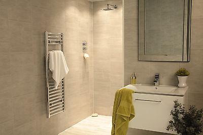 6 Swish Marbrex Moonstone Large Tile Effect Plastic Wall Panels Shower Cladding