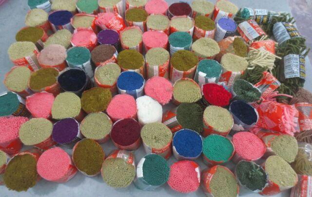 Vintage Bucilla Rug Wool Pre Cut Latch