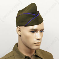 Ww2 Us Issue Type Garrison Cap - Air Corps - Repro Military Army American Hat