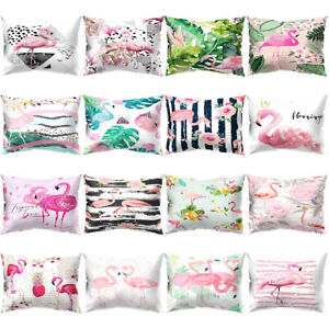 Am-KF-Flamingo-Printed-Rectangle-Throw-Pillow-Case-Bed-Cushion-Cover-Home-Deco