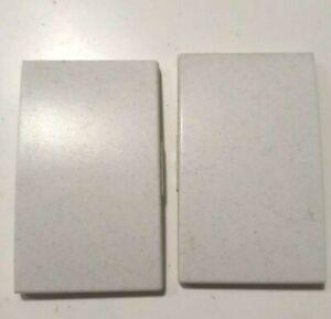 Legrand SAGANE Silex 2 Demi double Doigt Enjoliveur Interrupteur poussoir 85705