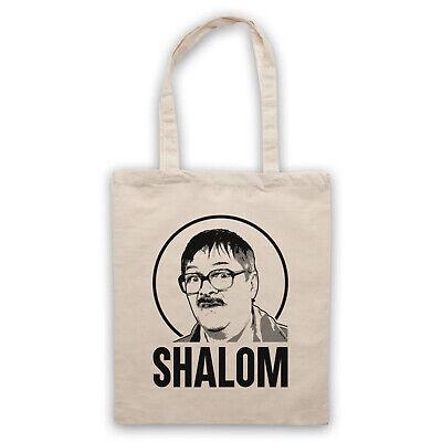 Friday Night Jim Happy Hanukkah British Comedy TV Show Unofficial Cotton Tote Bag Shopper