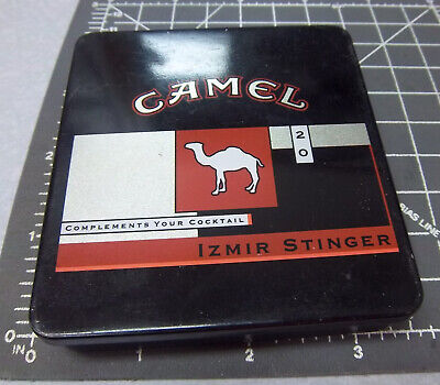 Camel Izmir Stinger Tobacco Collectible Tin Empty Great Graphics Colors Ebay
