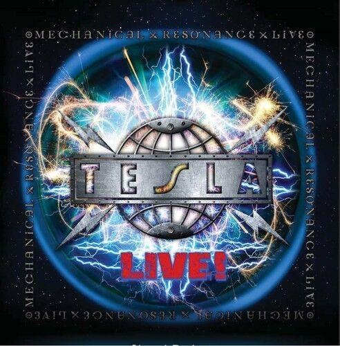 Tesla - Mechanical Resonance Live [New CD] Bonus Track