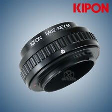 Kipon Adapter with Focus Helicoid for M42 Mount Lens to Sony E NEX a72/a7R2