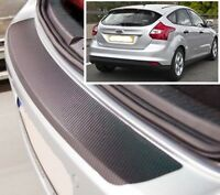 Ford Focus MK3 - Carbon Style rear Bumper Protector