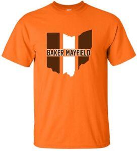 on sale f65a3 28864 Details about ORANGE Cleveland Browns Baker Mayfield