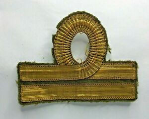 WW2-Italian-Navy-Lieutenant-cloth-Sleeve-Badge-original