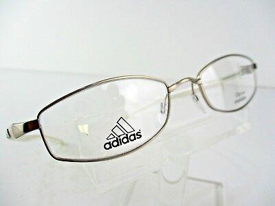 adidas A678/40 6052 Silver Gold/white 51x18 140mm Eyeglass Frames | eBay