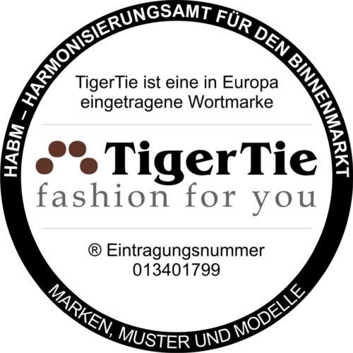 Herren Kummerbund Pique Fliege TigerTie Einstecktuch weiss uni gemustert
