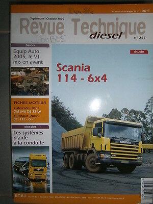 revue technique RTD 255 SCANIA 114 340-380 ch