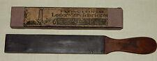 Leder Streichriemen Extra fein uralt 1920/30 OVP