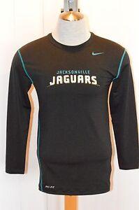 Men's Nike Dri-Fit Jacksonville Jaguars Long Sleeve Football Shirt 515951 010