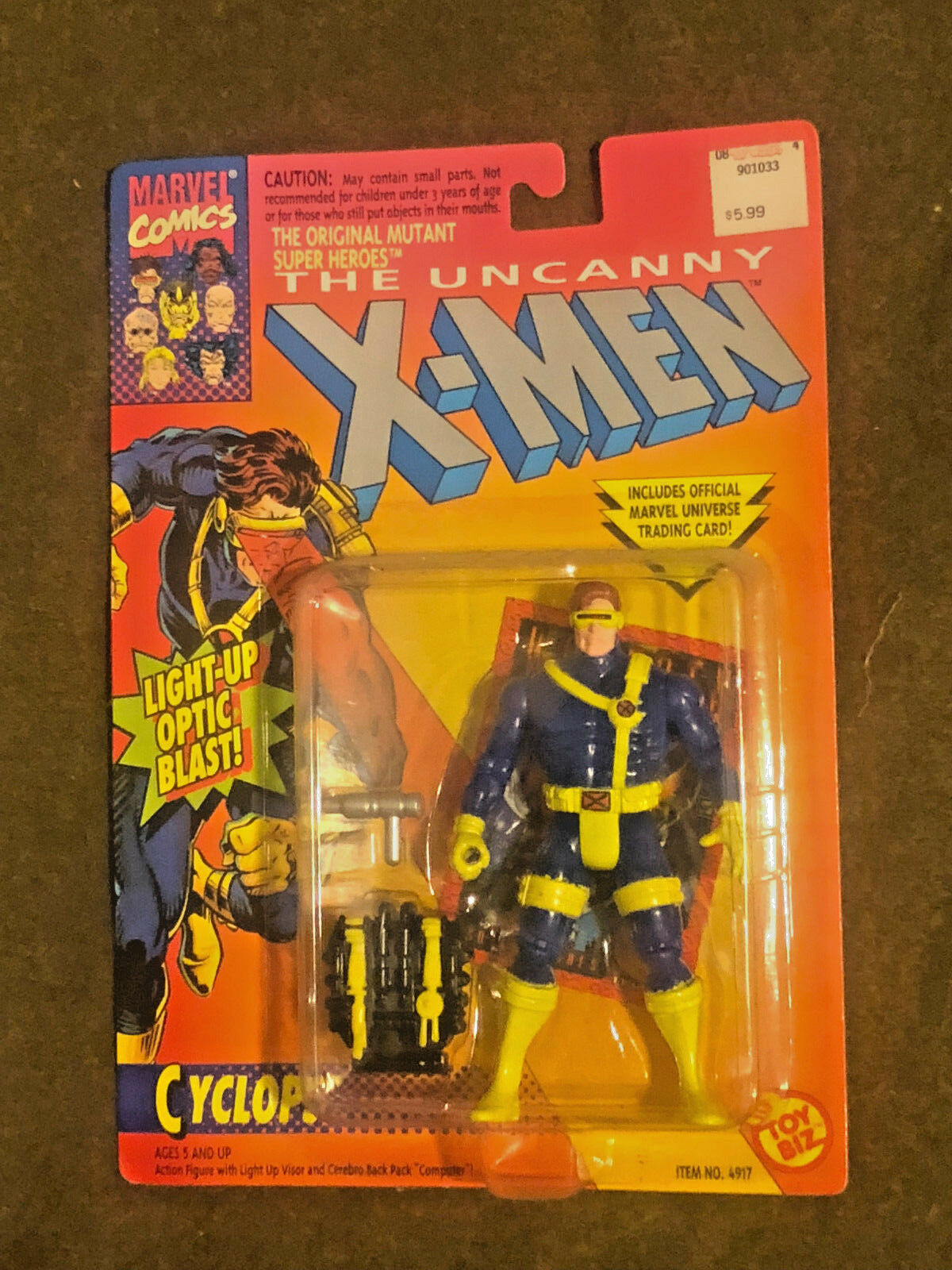 X-MEN CYCLOPS LONGSHOT BROOD AHAB PROFESSOR X NEW SEADED TOYBIZ 5 FIGURE LOT (5)