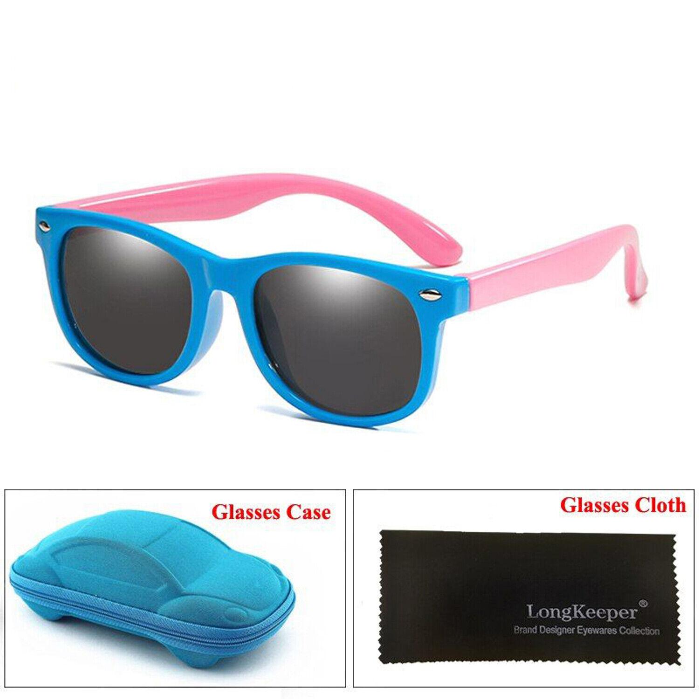 Black Rainbow Hang Ten Kids Uv400 Sunglasses