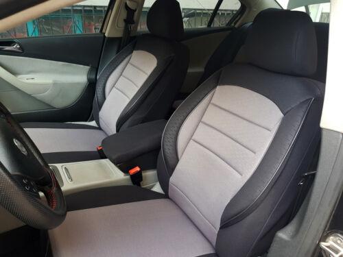 Sitzbezüge Schonbezüge Toyota Land Cruiser schwarz-grau V759984 Vordersitze
