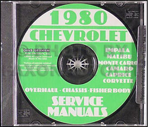 1978 ORIGINAL Chevy Shop Manual Camaro Corvette El Camino Caprice ...