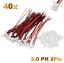 40-Set-80-Stueck-2Pin-2-0-PH-2-0mm-Mini-Micro-JST-Stecker-12cm-Kabel-Buchse Indexbild 1