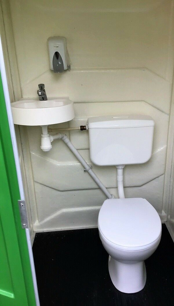Portable Site Mains Connectable Toilet   Camping   Event Price Inc Vat