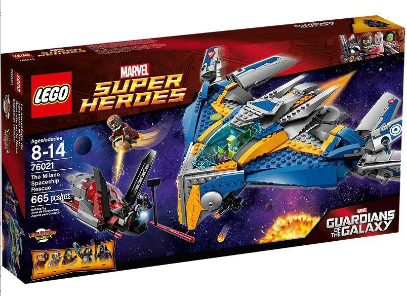 LEGO ® marvel super heroes 76021 Milano spaceship rescue NEUF emballage d'origine New MISB NRFB