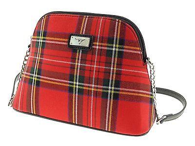Ladies Scottish Royal Stewart Tartan Handbag TB7020