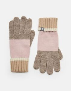 Agressif Joules Femme Flurrywell Tricot Gants One In Cool Rose En Taille Unique Bas Prix