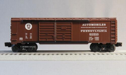 LIONEL PRR AUTOMOBLIES DOUBLE DOOR BOXCAR O GAUGE train car pennsy 6-81269 B NEW