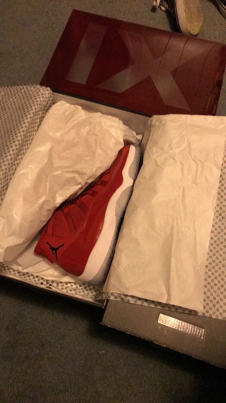 2017 Air Jordan 11 Retro GYM RED Win Like 96 MENS Size 10 DS