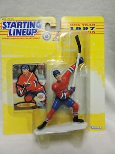 100% Vrai Starting Lineup Mark Recchi Hockey Action Figure 1997-afficher Le Titre D'origine Retarder La SéNilité