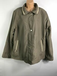 WOMENS-EDITIONS-GREY-ZIP-UP-SOFT-LIGHTWEIGHT-MAC-COAT-JACKET-SIZE-UK-20